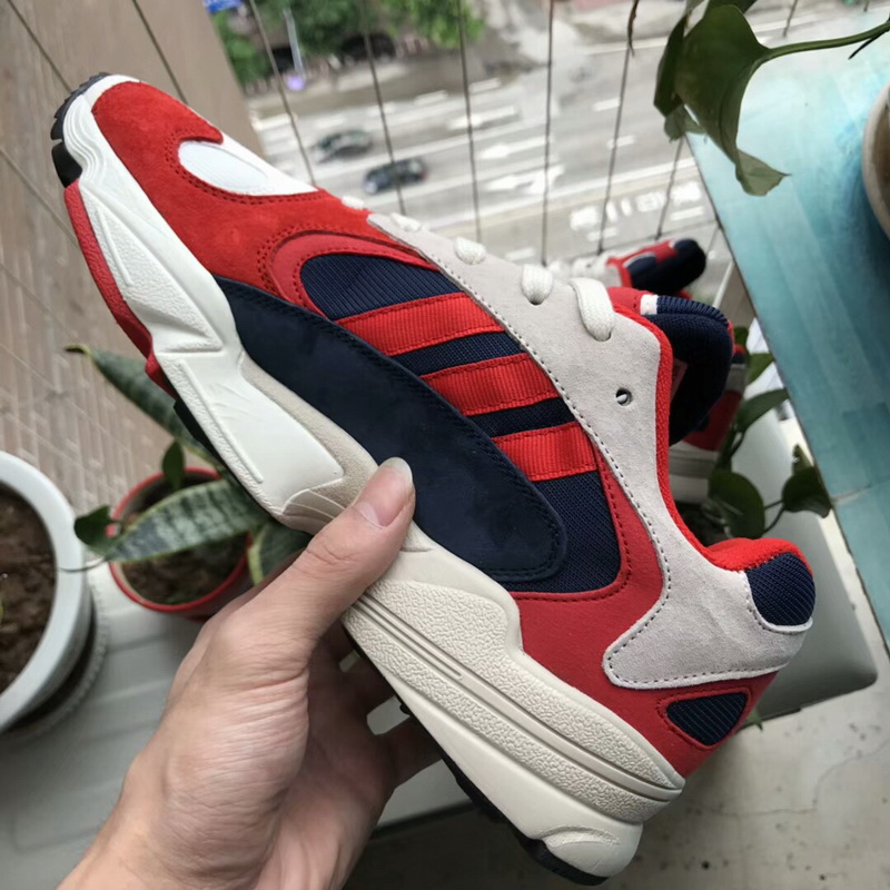 Adidas Originals Yung 1 Red-White-Collegiate Navy WOMEN