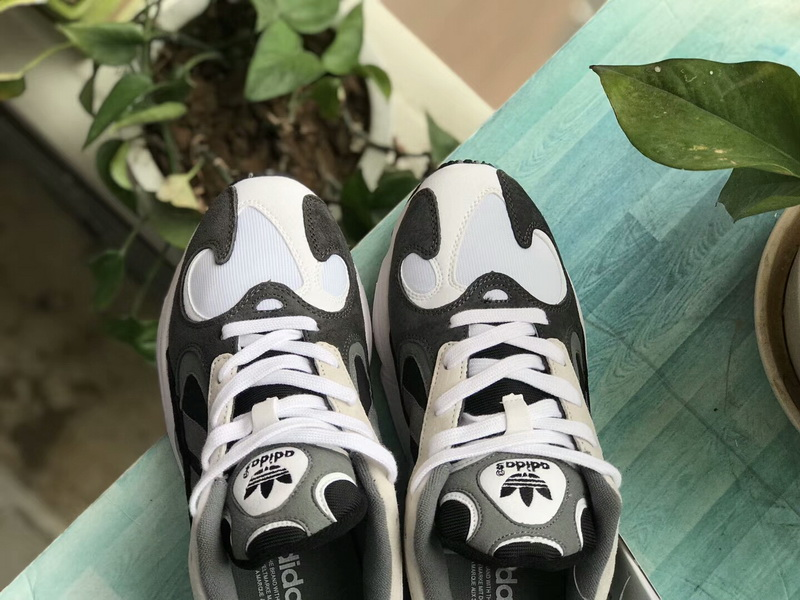 Adidas originals Yung 1 White-Dark Grey-Black WOMEN