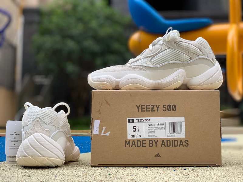 Adidas Yeezy 500 Boost Bone white Women