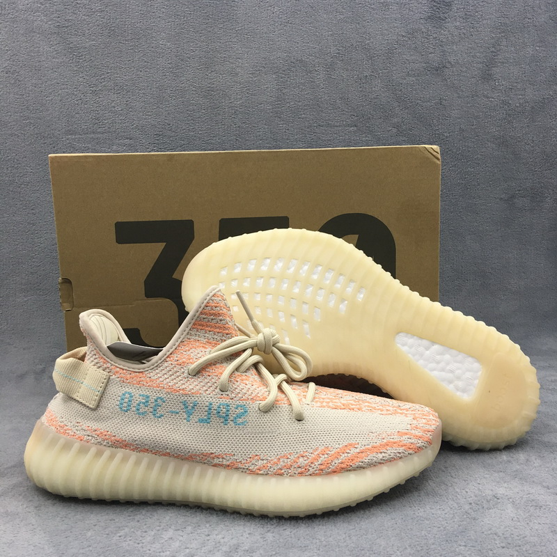 "Authentic Adidas Yeezy 350V2 Boost""Clear Brown"""