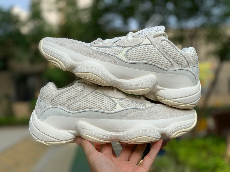 Authentic Adidas Yeezy 500 Boost Bone white