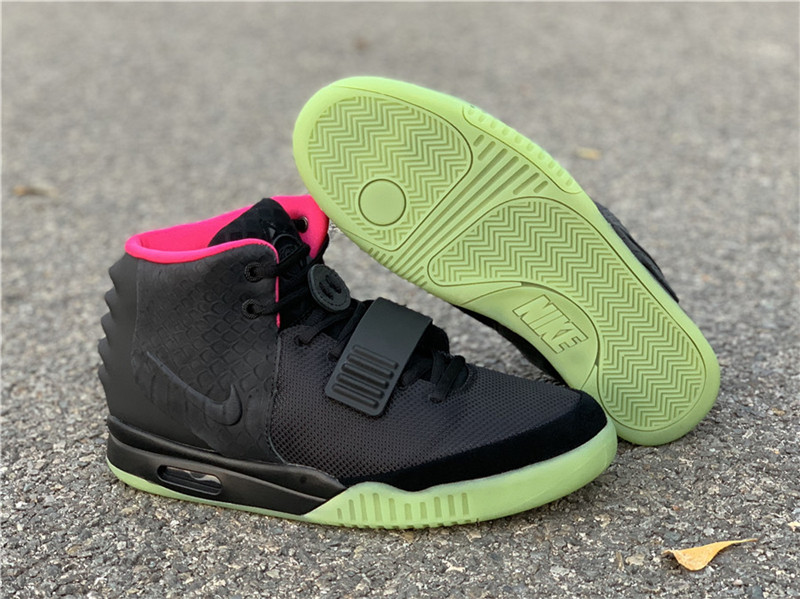 "Authentic Nike Air Yeezy 2 ""Solar Red"""