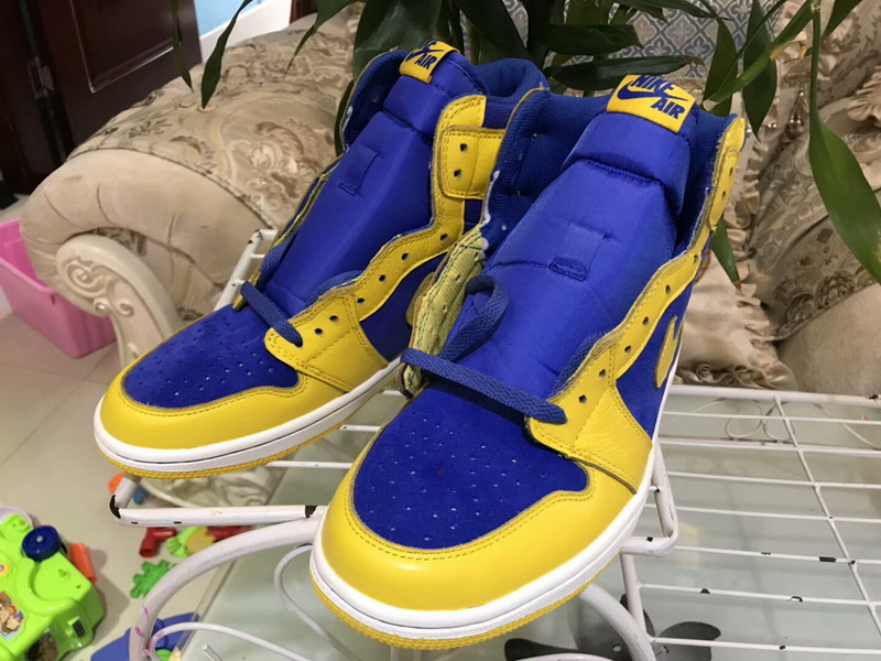 Authentic Air Jordan 1 OG Laney