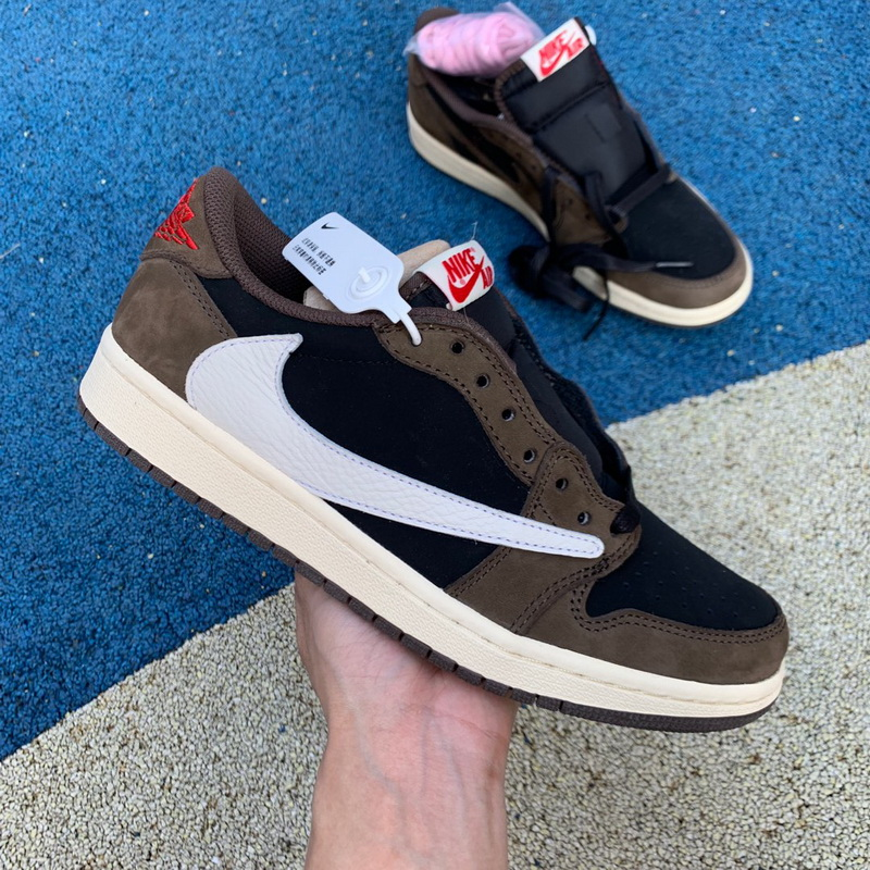 Authentic Air Jordan 1 X Travis Scott Low