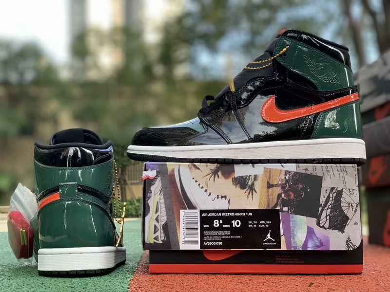 Authentic Solyfly x Air Jordan 1 Green