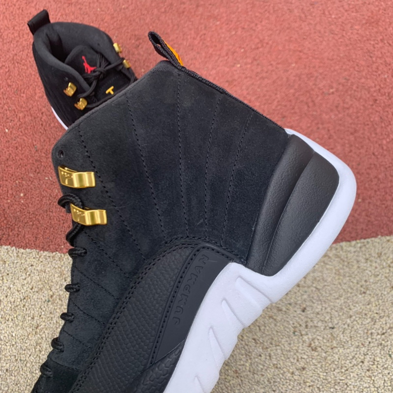 "Authentic Air Jordan 12 ""Reverse Taxi"""