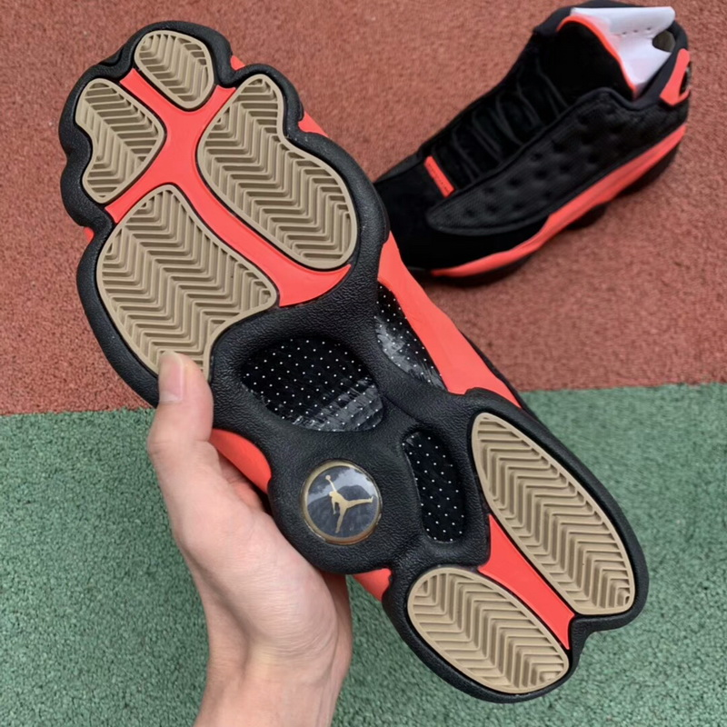 "Authentic CLOT x Air Jordan 13 Low ""Infrabred"""