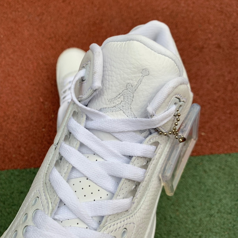"Authentic Air Jordan 3""White Car"""