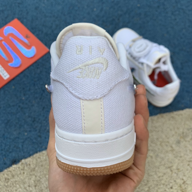 Authentic Nike Air Force 1 Travis Scott Low white
