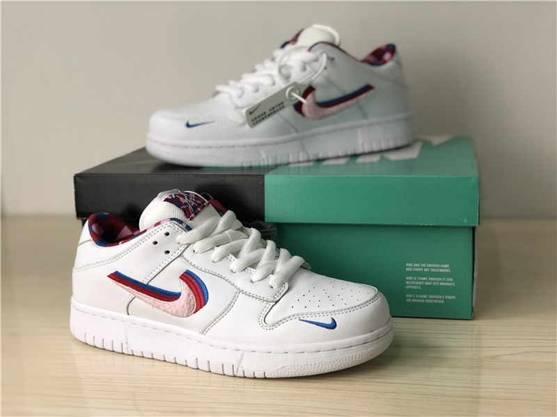 Authentic Nike SB Dunk Low x Parra White