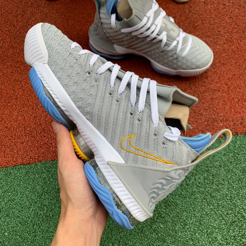 Authentic Nike LeBron 16 Gray