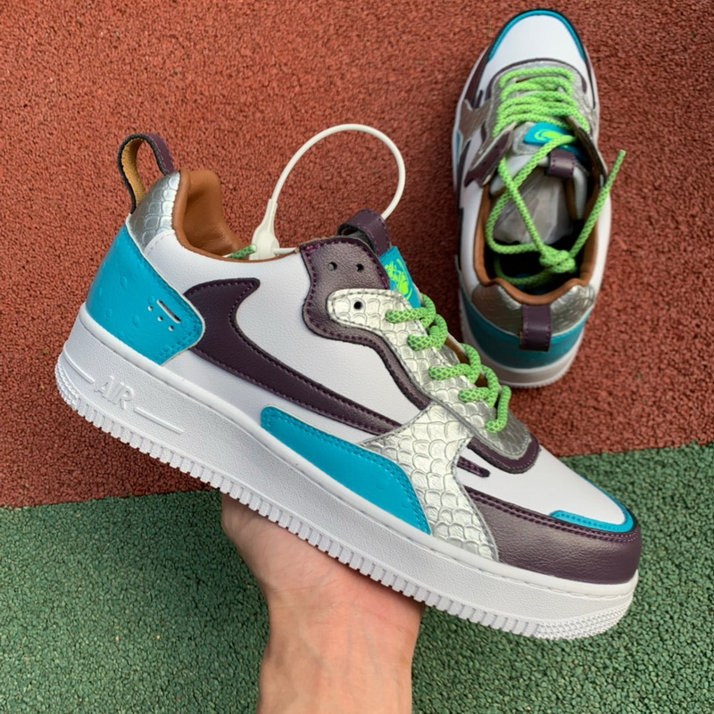 Authentic Nike Air Force 1 AC Black blue Women