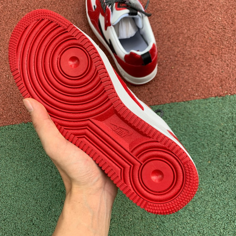 Authentic Nike Air Force 1 AC Red Women