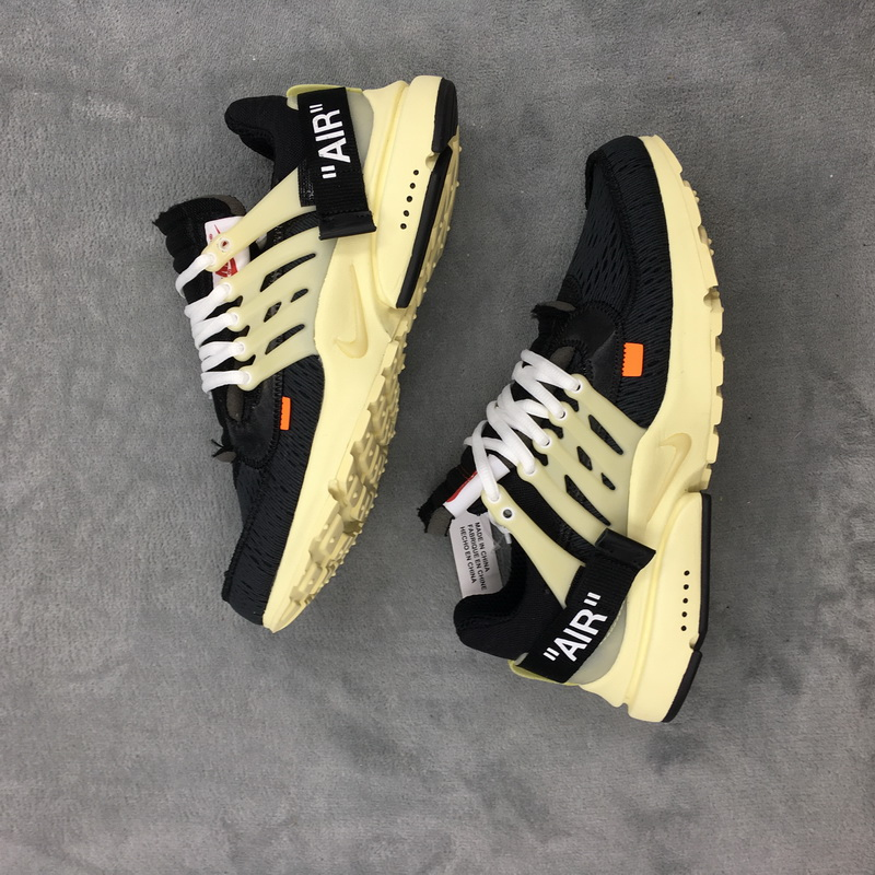 Authenitc OFF WHITE x NIKE Air Presto