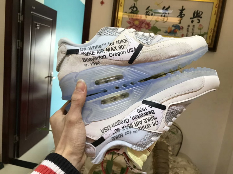 Authentic OFF WHITE X NIKE Air MAX 90
