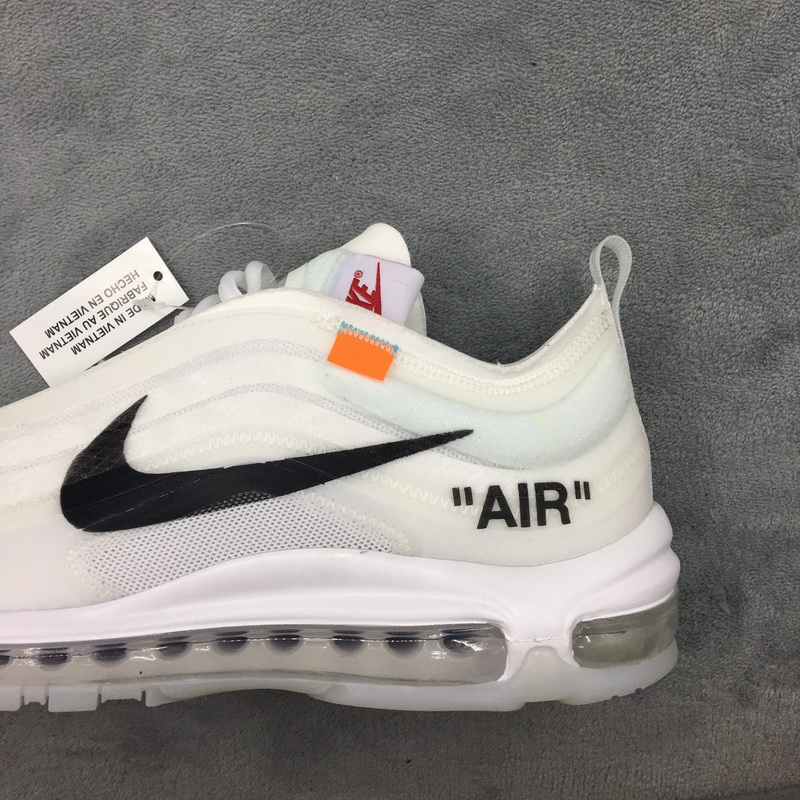 Authentic OFF WHITE x Nike Air Max 97 white