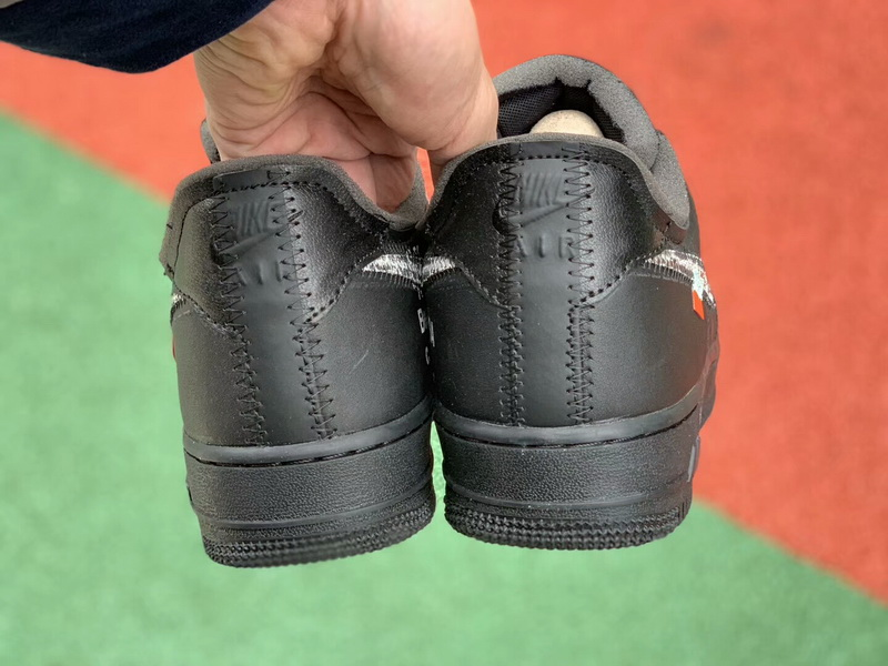 Authentic OFF-WHITE X Air Force 1 Black