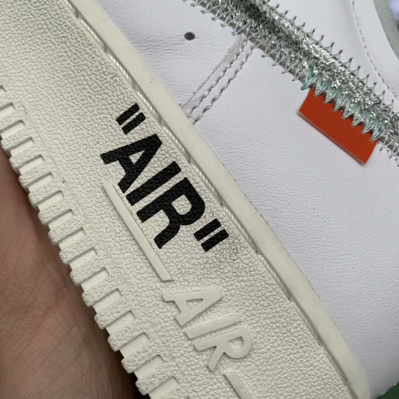 Authentic OFF-WHITE x Air-Force 1 Complex Con