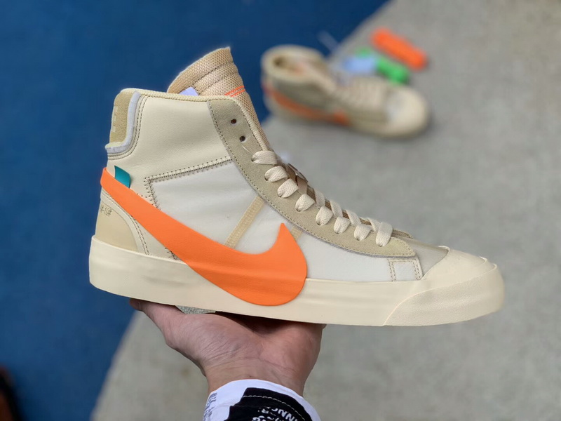 "Authentic OFF-WHITE x Nike Blazer ""All Hallows Eve"""