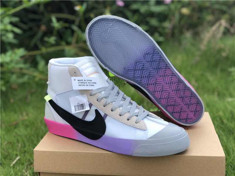 Authentic OFF-WHITE x Nike Blazer Studio Mid