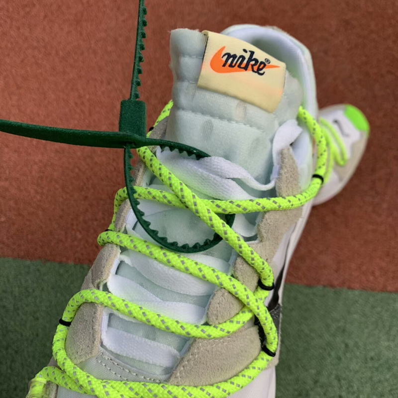 Authentic OFF-WHITE x Nike Zoom Terra Kiger 5 yellow