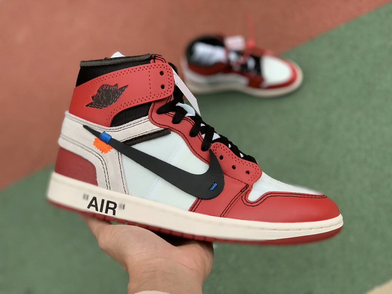 Authentic Off White x Air Jordan 1 Chicago