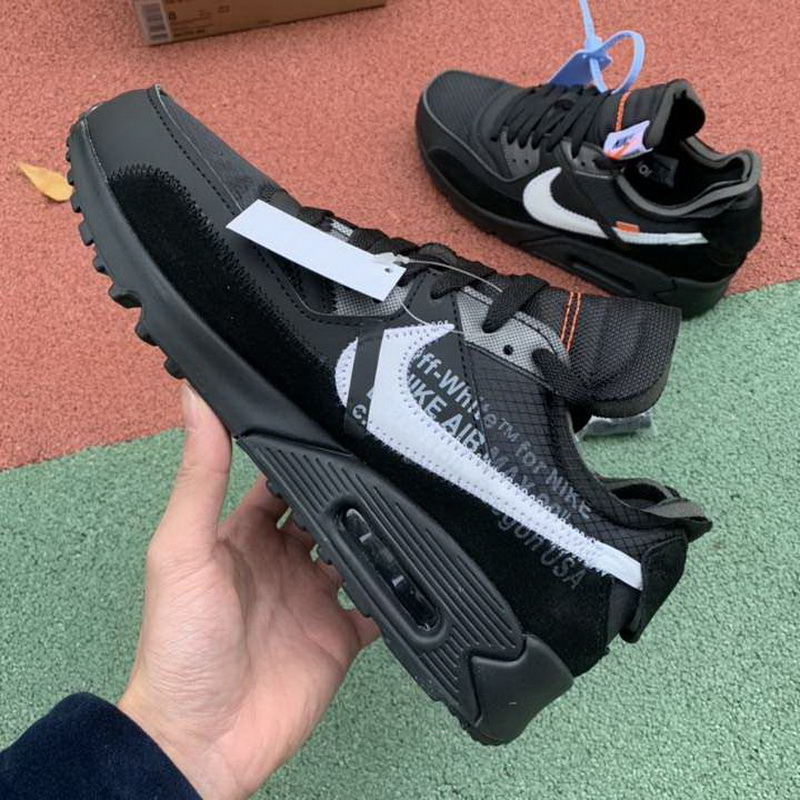 Authentic off white X Nike Air Max 90 Black
