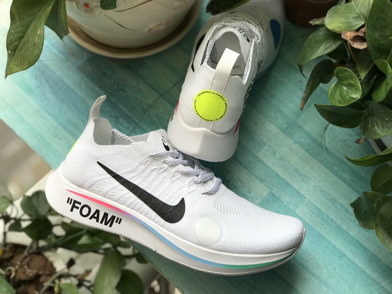 Off-White x Nike Zoom Fly Mercurial Flyknit White